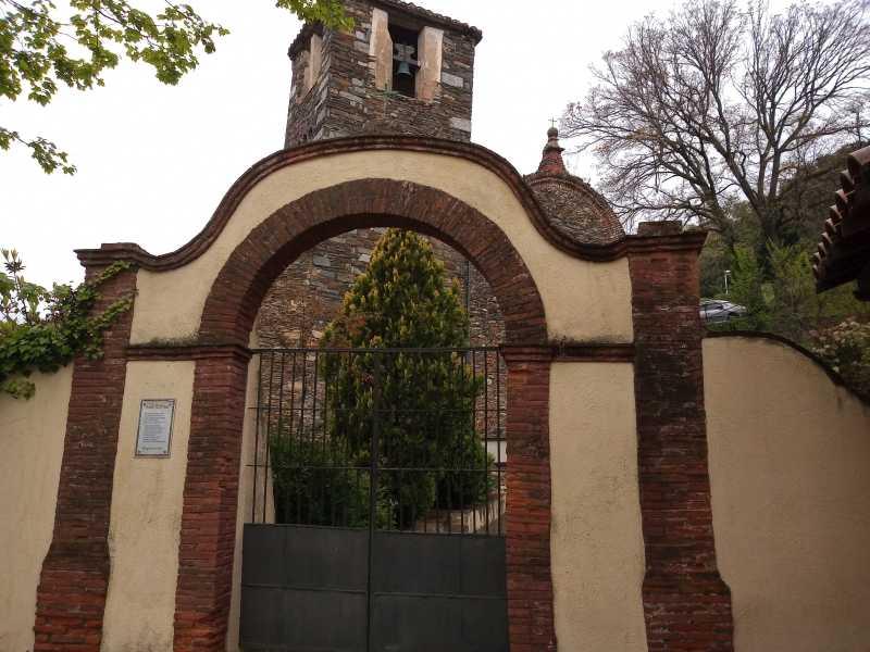 Kirche in der Ortschaft Montseny